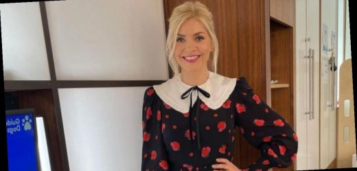 Holly Willoughby wows fans in gorgeous mini dress on This Morning – copy her look from £15.99