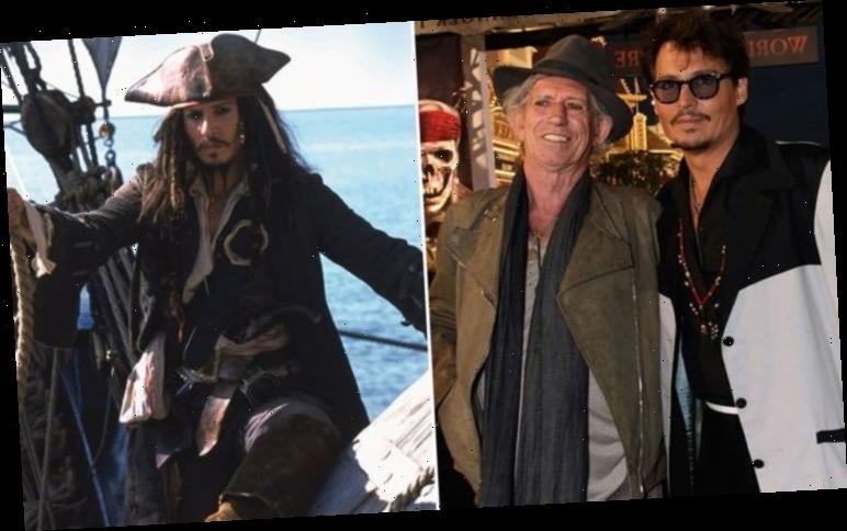 Pirates of the Caribbean: Johnny Depp based Jack Sparrow on Keith Richards and Pepé Le Pew