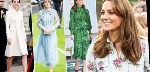 Kate Middleton beats Queen and Meghan Markle to be crowned most stylish royal in world