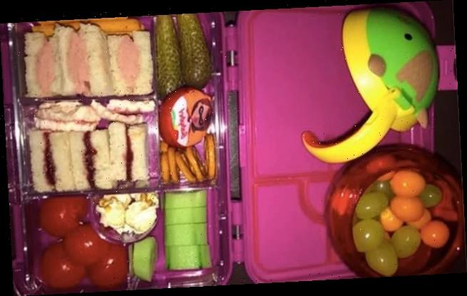 Parents 'freak out' over two-year-old's lunchbox staple