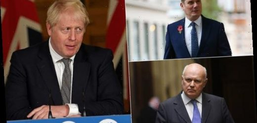 Boris Johnson is blasted from all sides over winter lockdown