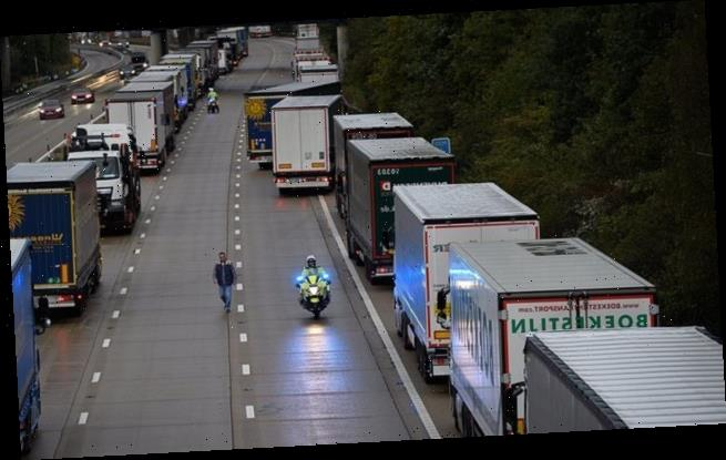 Truckers 'face chaos at the UK border from January 1'. report warns