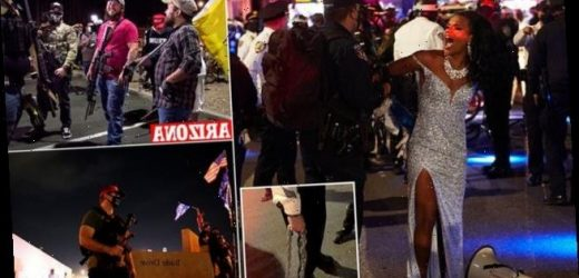 NYPD clash with protesters in NYC during third night of demonstrations