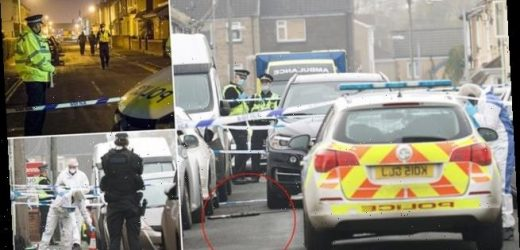Man 'is shot dead by armed police' in Swindon