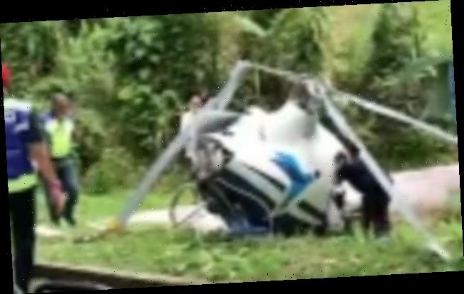 Two killed as helicopters from same pilot school crash in Malaysia