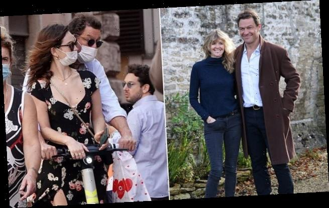 Dominic West's marriage 'as good as over amid Lily James' scandal