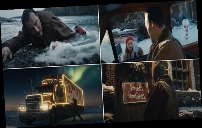 Coca Cola unveils its tear-jerking new Christmas advert
