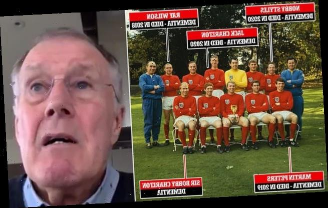 Geoff Hurst says training sessions are worse for brain than matches