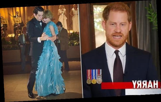Prince Harry said he'd 'insist' on The Crown ending before ihis era