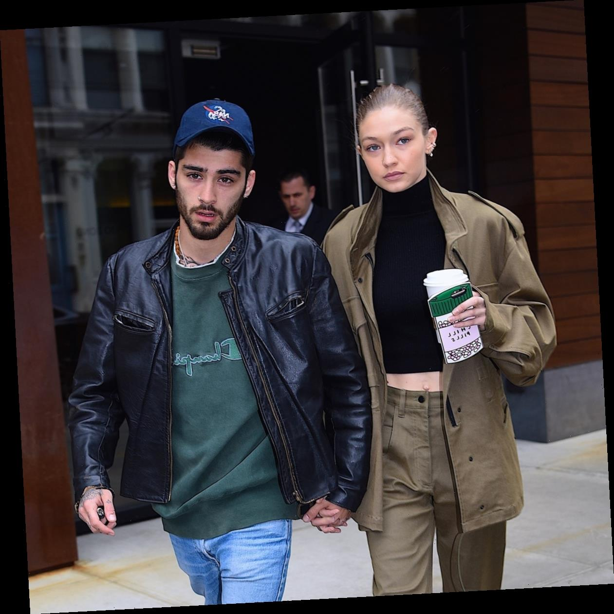 Gigi & Zayn's First Family Photo With Their Baby Is Spooktacular