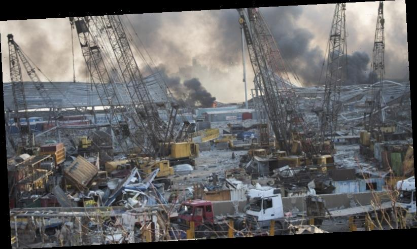 Judge files charges against two over Lebanon port blast