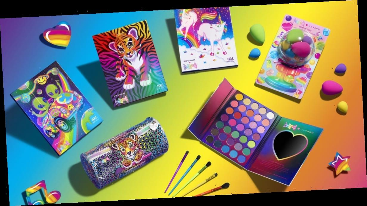 The New Morphe x Lisa Frank Collection Is Exploding With Rainbows, Glitter, and Nostalgia