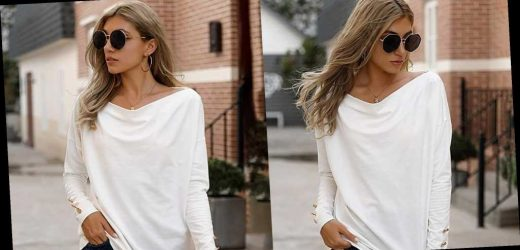 This Chic White Top Has the Perfect Touch of Festive Detailing