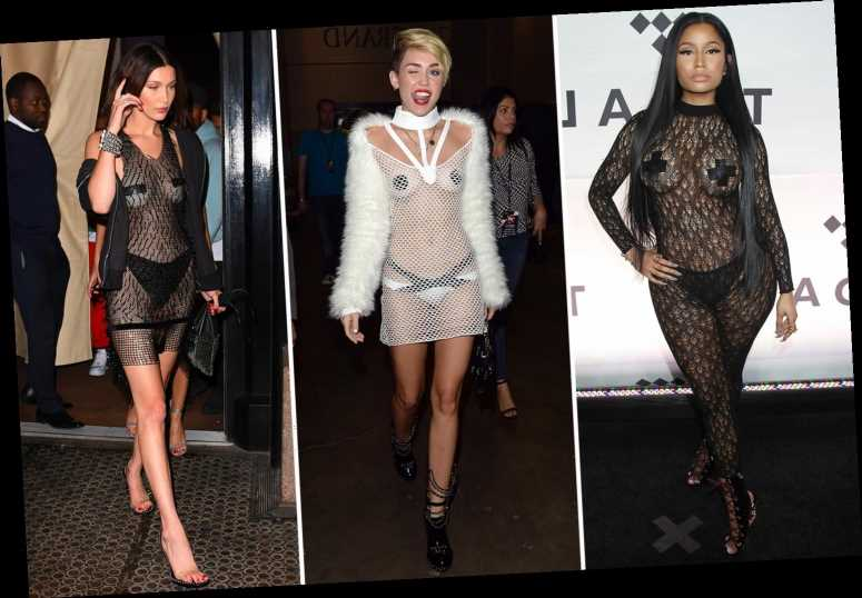 From The Crown's Emma Corrin to Nicki Minaj, celebs prove nipple pasties are the hottest accessories