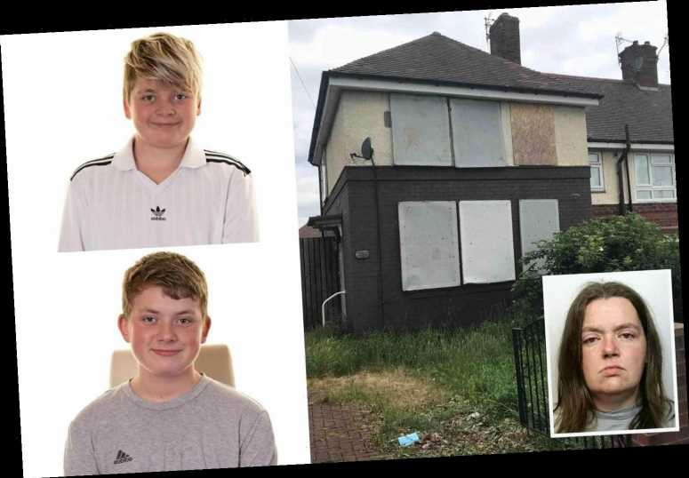 House of horrors where monster mum Sarah Barrass murdered her two boys, 13 and 14, to be torn down