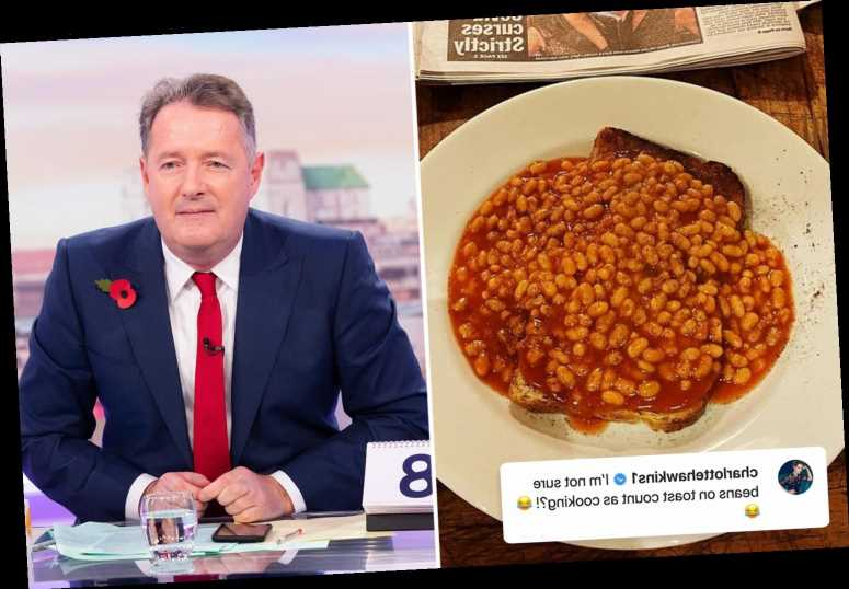 Piers Morgan ridiculed by co-stars after announcing he's taken up cooking – and revealing his basic first 'recipe'