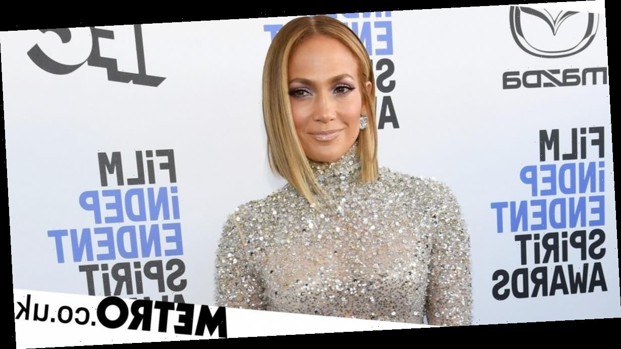 Jennifer Lopez supports Joe Biden in US election as she flashes 'I voted' label