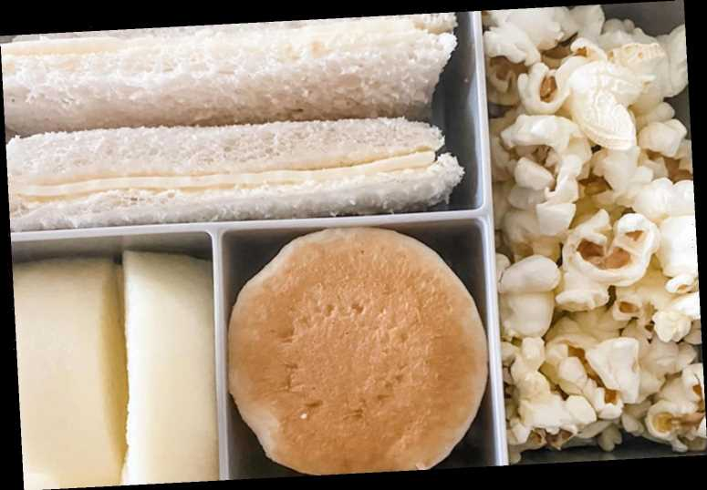 'Hero' mum sick of seeing veg-packed lunchboxes reveals her 'fussy' son's which is packed with beige grub