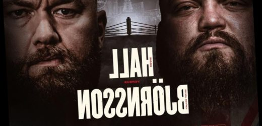 Eddie Hall vs Hafthor Bjornsson fight confirmed for September 2021 with pair set for 'heaviest boxing match in history'
