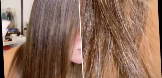 Woman transformed her dry, damaged hair using rice water – and it looks SO shiny