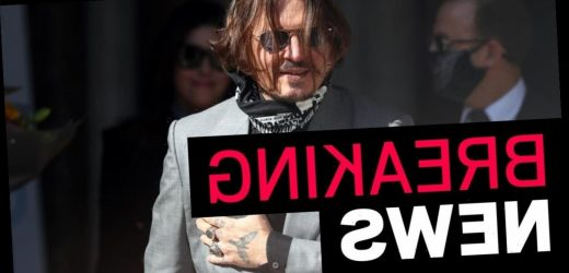 Johnny Depp loses libel case against The Sun over wife beater article