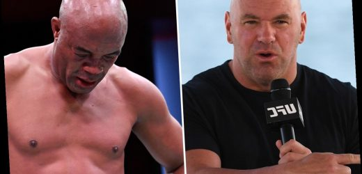 Dana White insists it would be 'disgusting' for any promotion to host Anderson Silva fight after final UFC bout