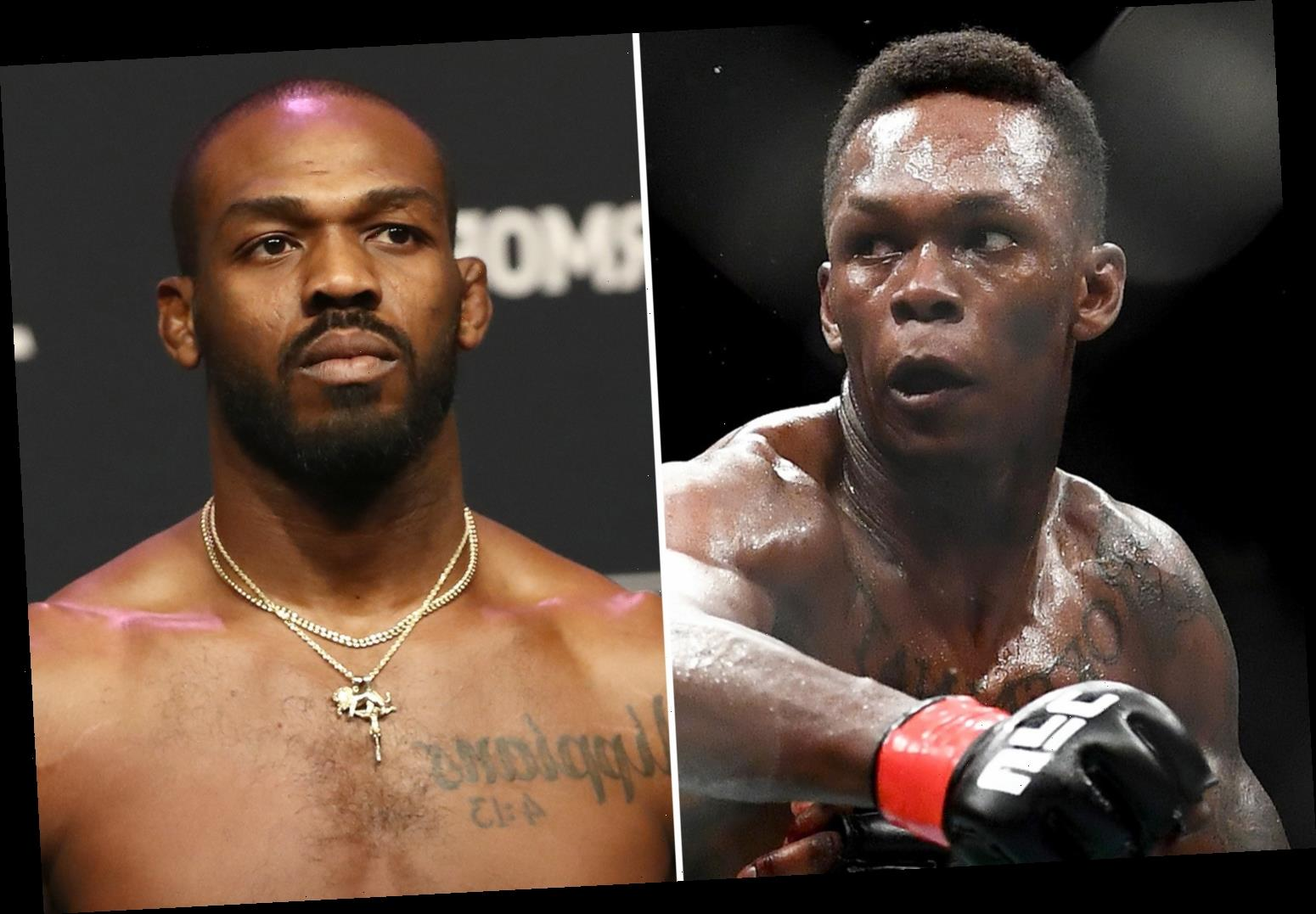 UFC star Jon Jones' last five fights prove he is 'washed up', claims Israel Adesanya as he taunts rival