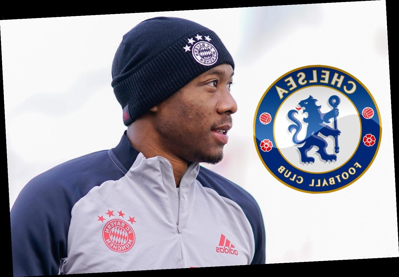Chelsea 'in pole position to land David Alaba' on free transfer ahead of Real Madrid, PSG and Juventus