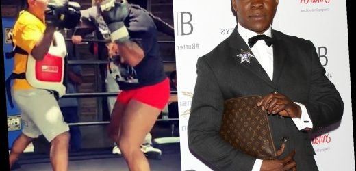 Chris Eubank, 54, doesn't need Mike Tyson-style comeback – because he's studying dinosaurs and Shakespeare in retirement