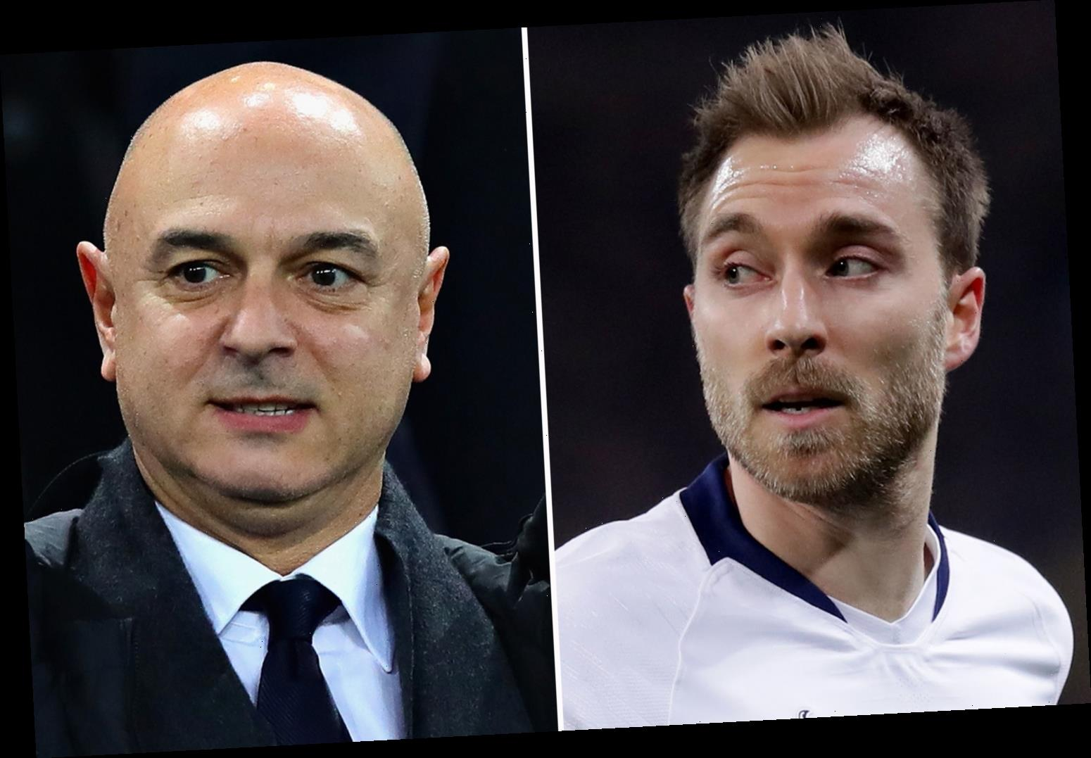 Christian Eriksen 'snubbed' Man Utd transfer after making promise to Daniel Levy that he wouldn't join a rival – The Sun