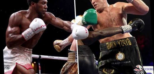 Anthony Joshua claims to have sparred against Tyson Fury for a Rolex watch 10 years ago – The Sun