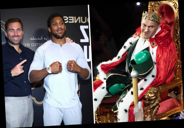 Tyson Fury is 'entertainer' while Anthony Joshua would rather be known as 'great fighter', says Eddie Hearn