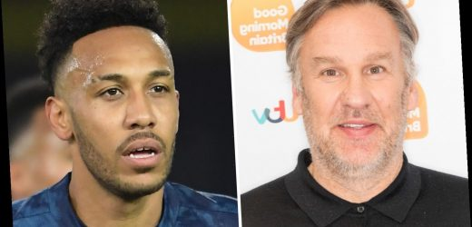 Paul Merson labels Arsenal a 'mid-table team', questions Arteta and says Aubameyang is 'bringing nothing to the party'