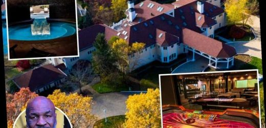 Inside Mike Tyson's extravagant 52-room mansion he sold to 50 Cent for £3.3m with two pools, nightclub and studio – The Sun