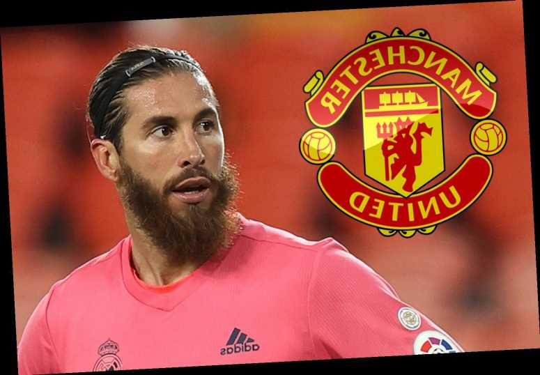 Man Utd 'tracking' Real Madrid star Sergio Ramos over free transfer with defender's contract up at end of the season