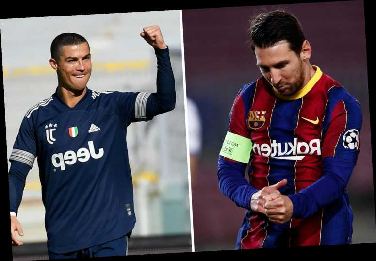 How Man Utd and City could line up with Cristiano Ronaldo and Lionel Messi respectively after possible summer transfers