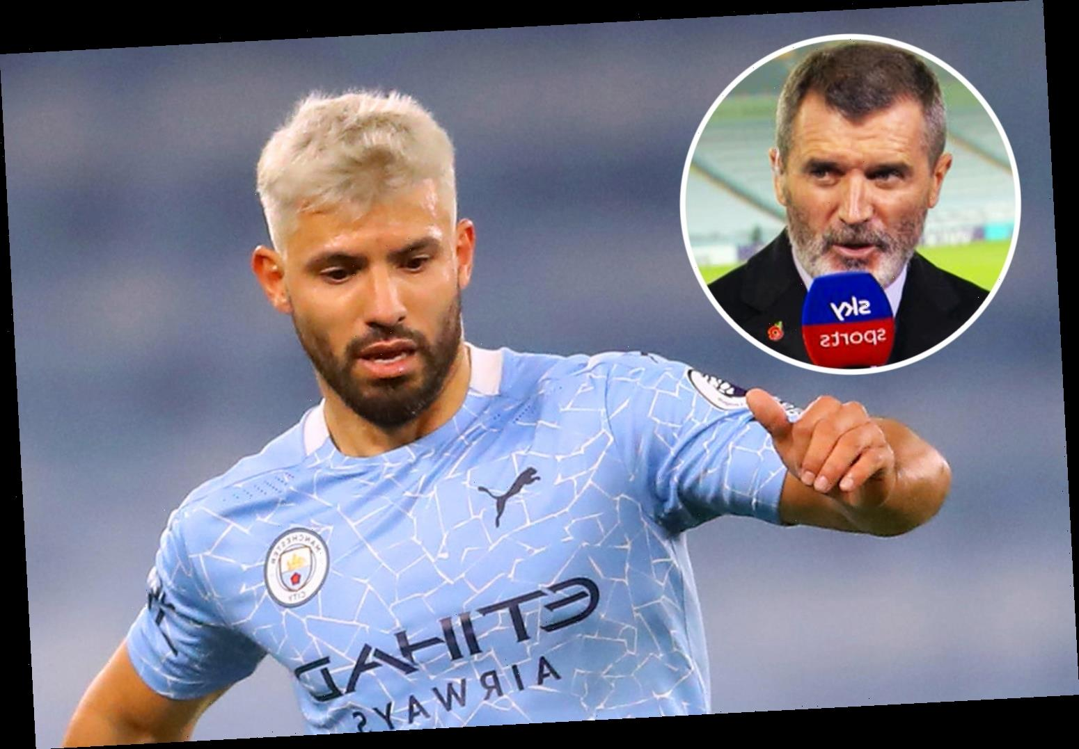 Man Utd hero Roy Keane claims Sergio Aguero returned from injury 'overweight' and admits he was 'worried' about City ace