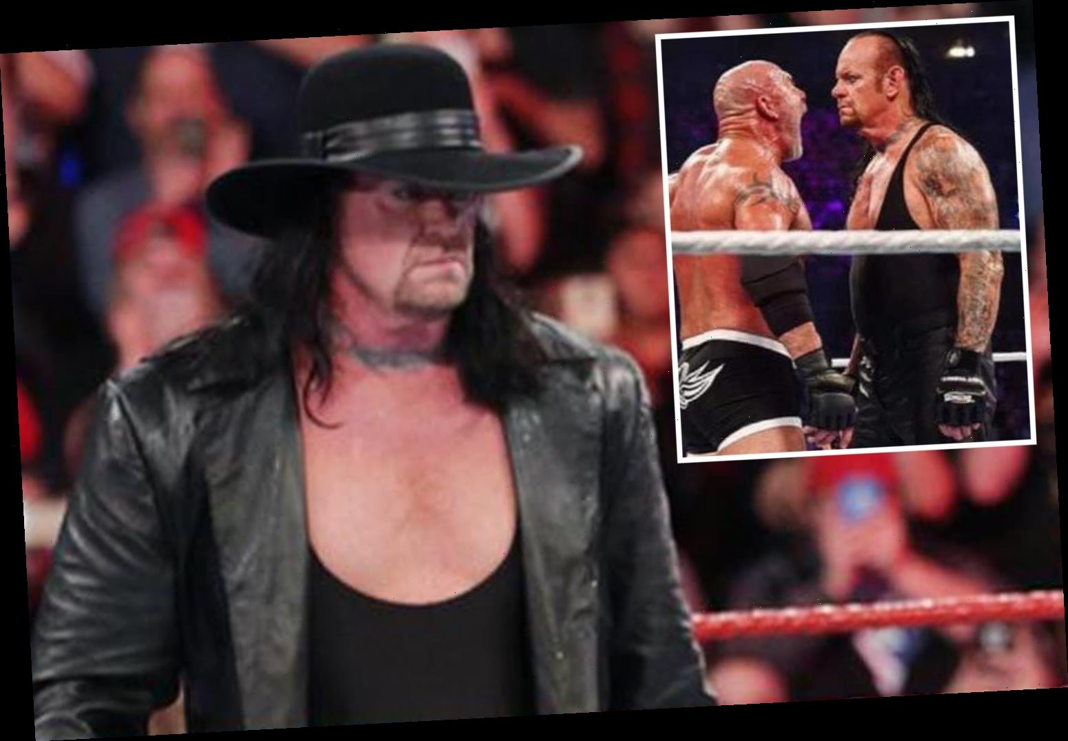 WWE legend The Undertaker reveals 'catastrophic' Super Showdown match vs Goldberg ended badly when rival got concussed – The Sun