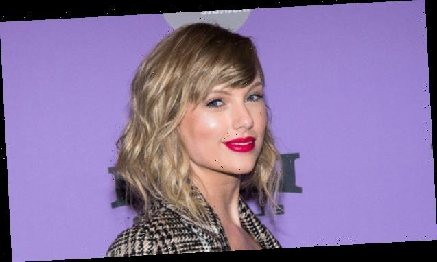 Taylor Swift Straightens 'Folklore' Era Curls & Fans Think It's An Easter Egg — Watch