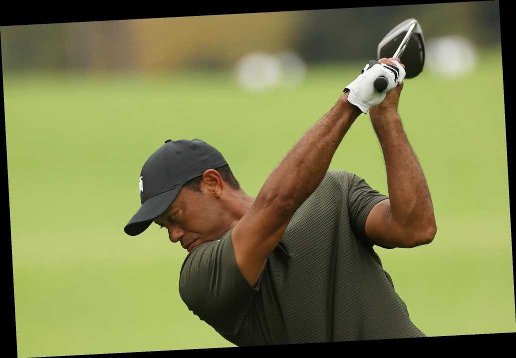 Tiger Woods has near hole-in-one during hot Masters start