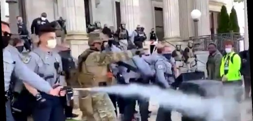 North Carolina Voters Pepper Sprayed By Police During March to the Polls