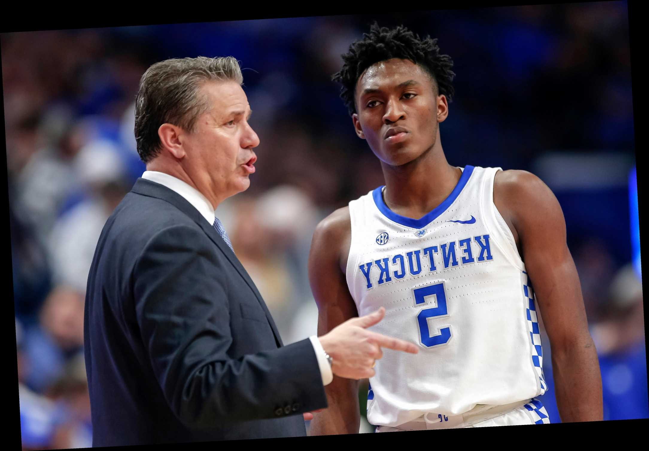 Immanuel Quickley NBA Draft pick bonds Knicks to John Calipari's gospel