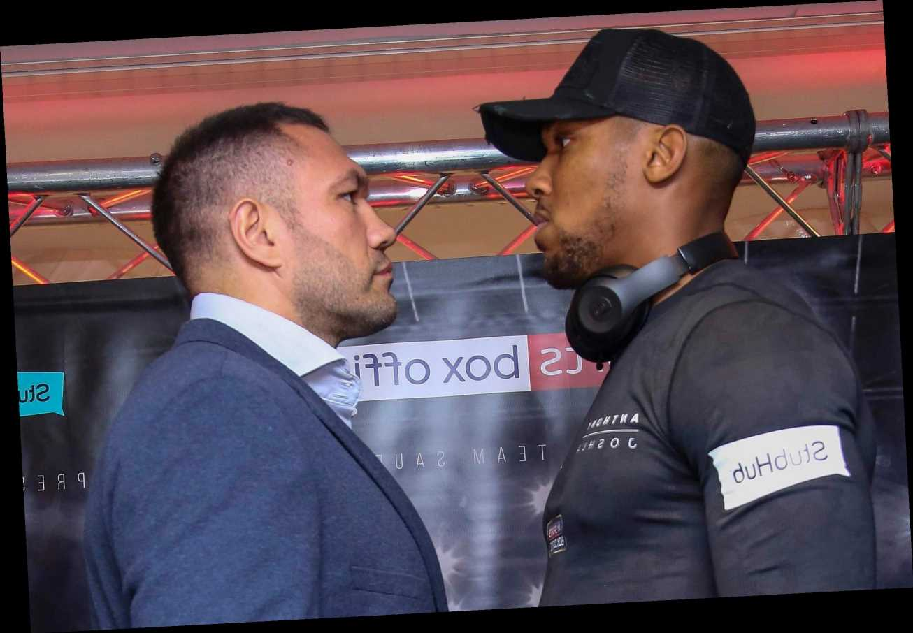 Anthony Joshua vs Kubrat Pulev could be staged abroad after latest lockdown floors plan to have fans inside The O2