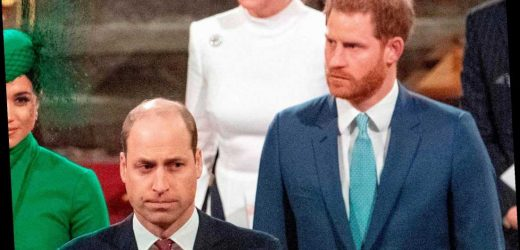Prince William's moans about living with Harry and being 'kept up all night'