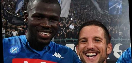Chelsea keeping tabs on Napoli financial problems with Kalidou Koulibaly and Dries Mertens eyed in cheap transfers