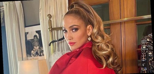Jennifer Lopez's Hair Stylist Used a $50 Curling Iron to Create Her People's Choice Awards Updo