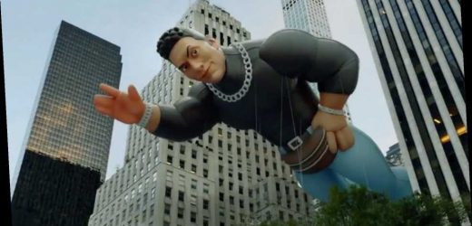 Dwayne Johnson's Infamous '90s Fanny Pack Look Becomes Macy's Thanksgiving Parade Balloon in Joke Ad