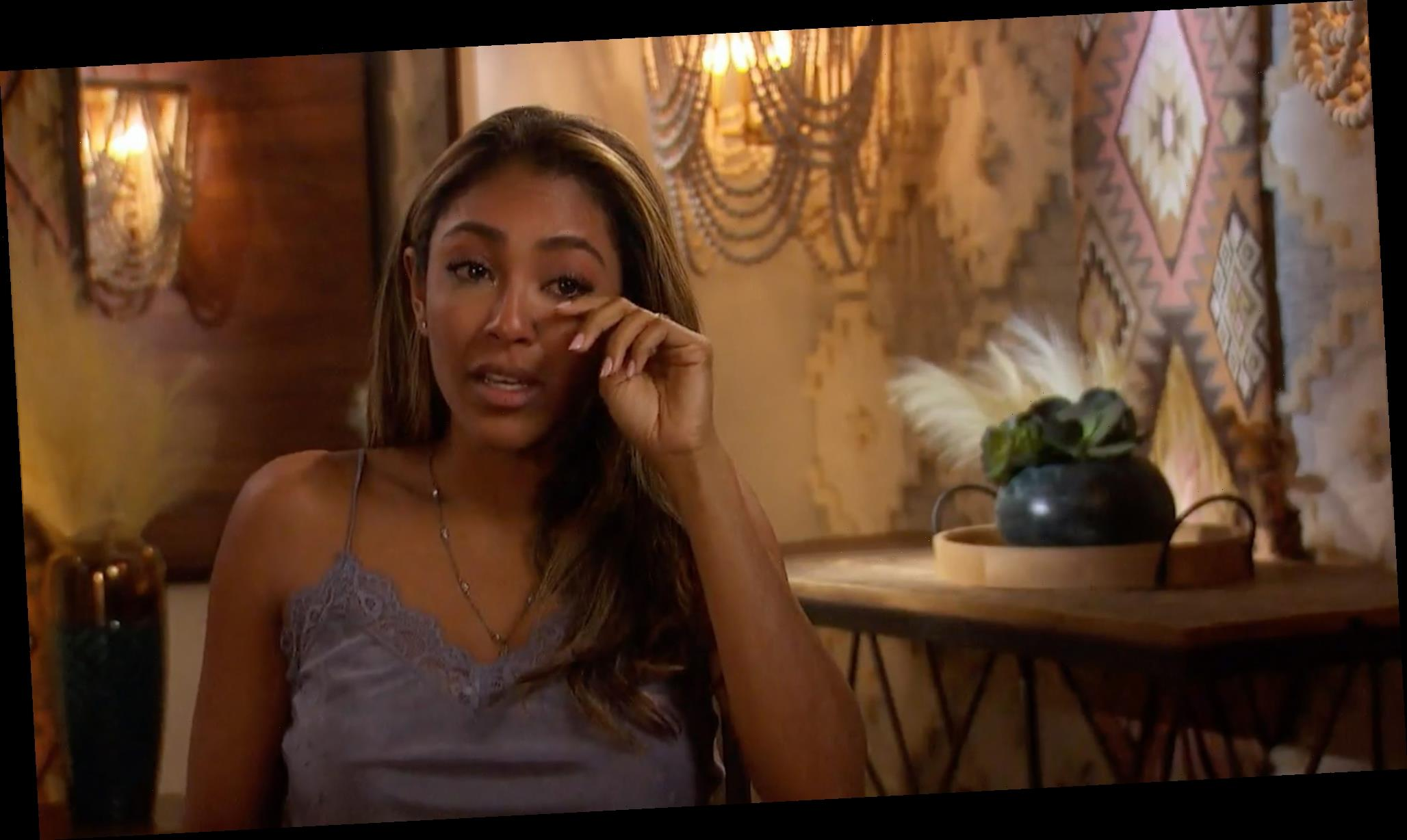 The Bachelorette: Things Take a Dramatic Turn for Tayshia Adams in Emotional Sneak Peak