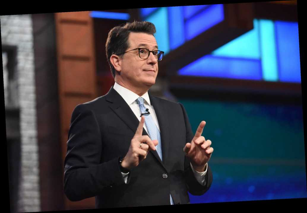 Stephen Colbert Jokes He's Sexiest Man Alive After Calling Out Trump for 'Falsely Claiming Victory'