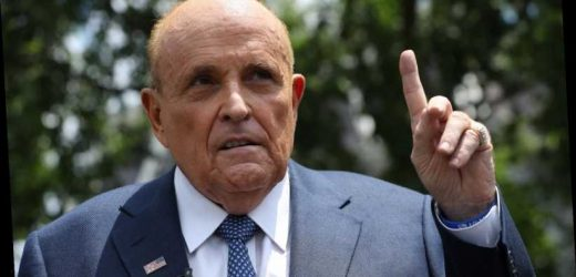 Here's how Rudy Giuliani reacted to Joe Biden's election victory